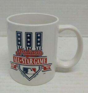 Cleveland-Indians-Tribe-All-Star-Game-Mug-1997-White-MLB-Baseball