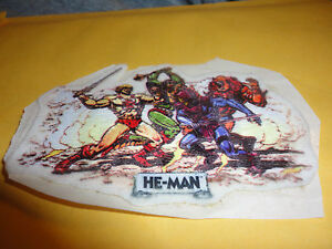 Image Is Loading VINTAGE HE MAN Vs SKELETOR PATCH SWEET LOOKING