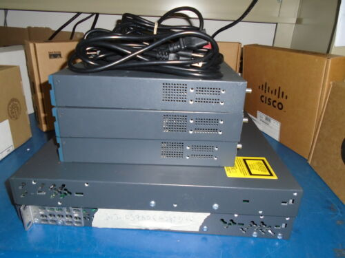 CCNA CCNP lab kit 3x Cisco 1841 2 x Cisco 3750or 3560 switch Real time listing