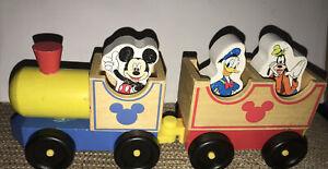 Melissa-amp-Doug-Disney-Mickey-Mouse-amp-Friends-All-Aboard-Wooden-Train-Set