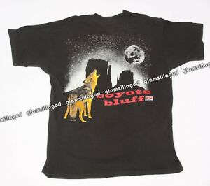 65a6f209ad Image is loading VINTAGE-90s-MARLBORO-Pocket-Tee-COYOTE-BLUFF-Adventure-