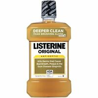 Listerine Original Antiseptic Mouthwash 1.5 Liter on sale