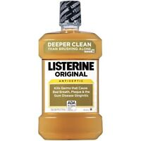 Listerine Original Antiseptic Mouthwash 1.5 Liter on sale