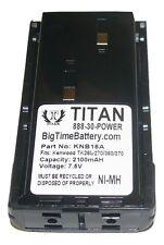 Replaces KNB-15A 2100mAh Battery for KENWOOD TK-260 TK-270 TK-272 TK-360 TK-370
