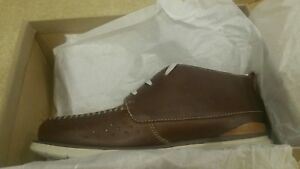 Clarks New Tumbled Mid Edgewood Mens Stivali Tan Hnw40q