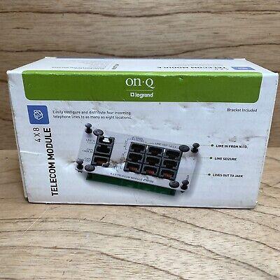 Electronics Computers & Accessories On-Q TM7556 4x8 Telecom Module ...