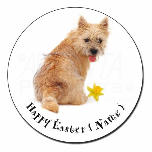 Cairn Terrier Personalised Easter Gift Fridge Magnet Stocking Fille AD-CT1DA2FM