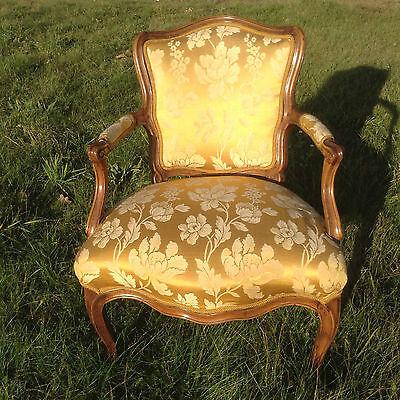 Sessel Fauteuil Louis Xv Kunst Furniture Barockmöbel Rokoko Vintage Armchair