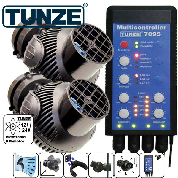 TUNZE MAREA & MAREA KIT ts242 x TURBELLE STREAM 6105  controller 7095