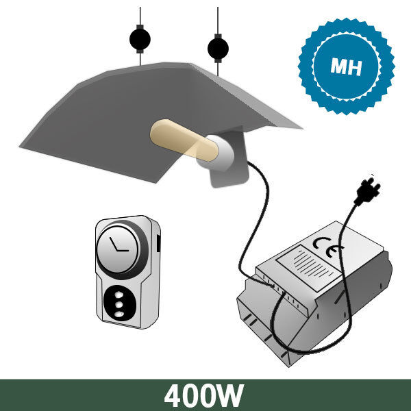 Kit Basic Box Mh + SuperPlant Mh 400W