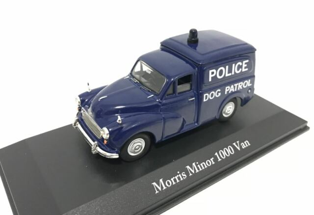 MORRIS MINOR 1000 VAN POLICE WEST RIDING CONSTABULARY ATLAS 1:43