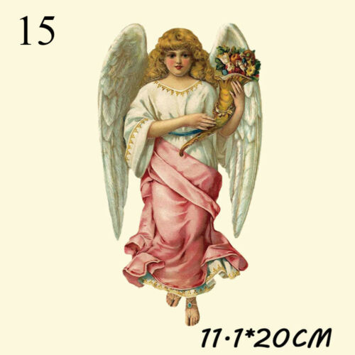 Clothes Heat Transfer Stickers Angel Cupid Patches Iron on Appliques Print