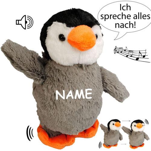 """NACH sprechender /"""" Ich spreche alles nach /& laufe dazu /"""" a Pinguin // Vogel"""