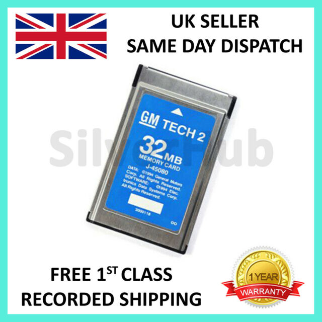 FOR SAAB 148 000 GM TECH2 TECH 2 32MB MEMORY CARD DIAGNOSTIC SCANNER TIS