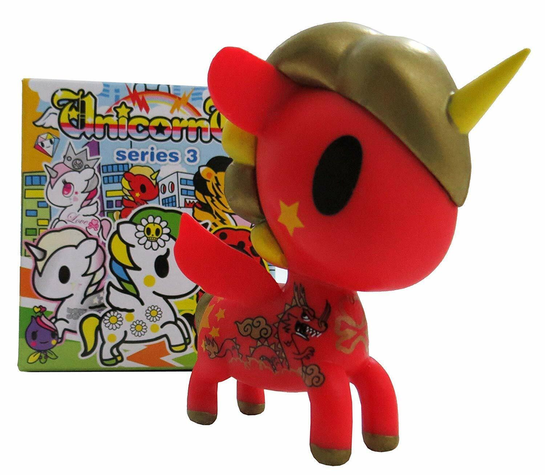 Tokidoki unicorno SERIE 3 Drago (Chase) 1   50 catálogos de base de etileno