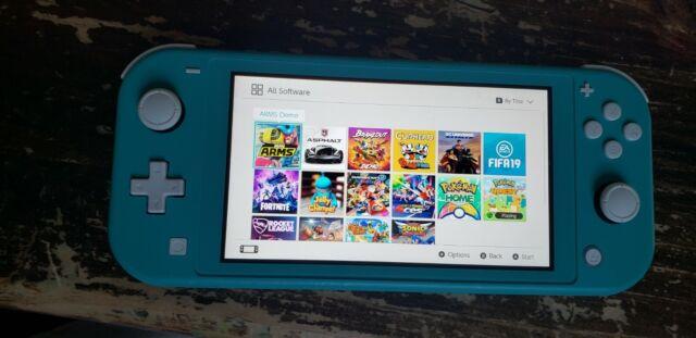 Nintendo Switch HDHSBAZAA Lite - Turquoise - 2019