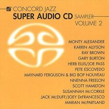 SEALED SUPER AUDIO CD: Concord Jazz SAMPLER Volume 2 MAYNARD FERGUSON Ray Brown