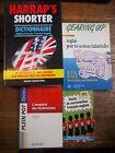 Lot de 4 livres sur l'anglais