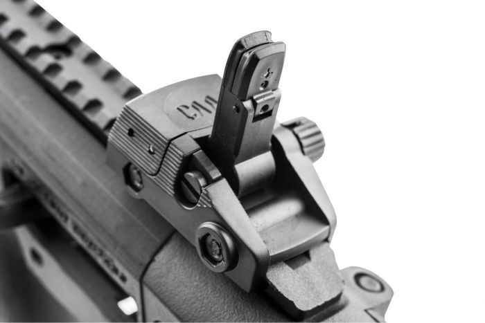 CAA Gearup Picatinny Ambidextrous Front & Rear Rear Rear Flip-up Sights - New 2018 Version 569663