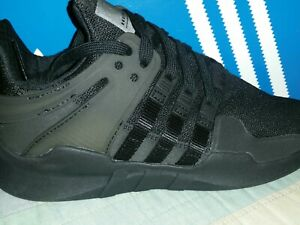 low priced b65cd eb29c Details about Adidas Eqt Support Adv Big Kids CP9473 Black Athletic Shoes  Sneakers Size 4