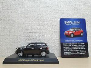 1-64-Kyosho-BMW-MINI-COOPER-COUNTRYMAN-S-BLACK-diecast-car-model