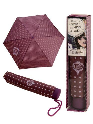 "Verity Rose umbrella retractable /""A Sunny DAY is never FAR AWAY /"" Brolly"