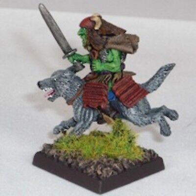 Acquista A Buon Mercato Goblin Wolfrider Con Katana Warhammer Fantasy Esercito 28mm Non Dipinti Wargames-mostra Il Titolo Originale