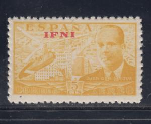IFNI-1948-NUEVO-SIN-FIJASELLOS-MNH-EDIFIL-57-5-cts-JUAN-DE-LA-CIERVA-LOTE1