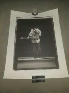 Stevie-Ray-Vaughan-034-Last-Call-034-Lithograph-by-W-A-Williams-RARE-High-Quality