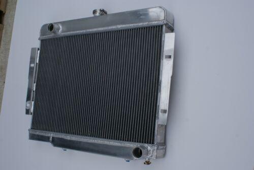 3Row Aluminium Radiator For 1972-1983 Jeep CJ5 1976-1986 CJ7 3.8 4.2 5.0