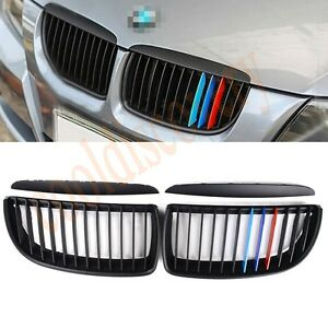 1pair-M-Color-Rinon-REJILLAS-Parrilla-Para-Bmw-E90-4door-Sedan-323i-3series
