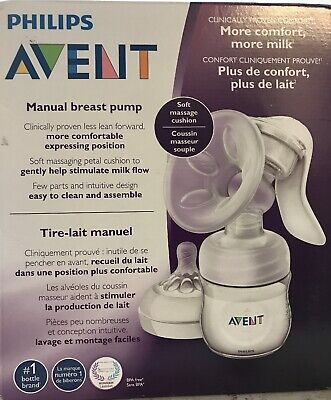Philips Avent Breast Scf330 30 Pump Manual Clear Easy To Hold