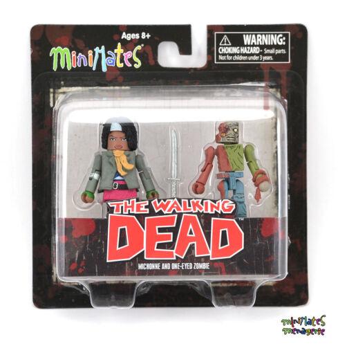 Walking Dead Minimates Series 2 Michonne /& One-Eyed Zombie
