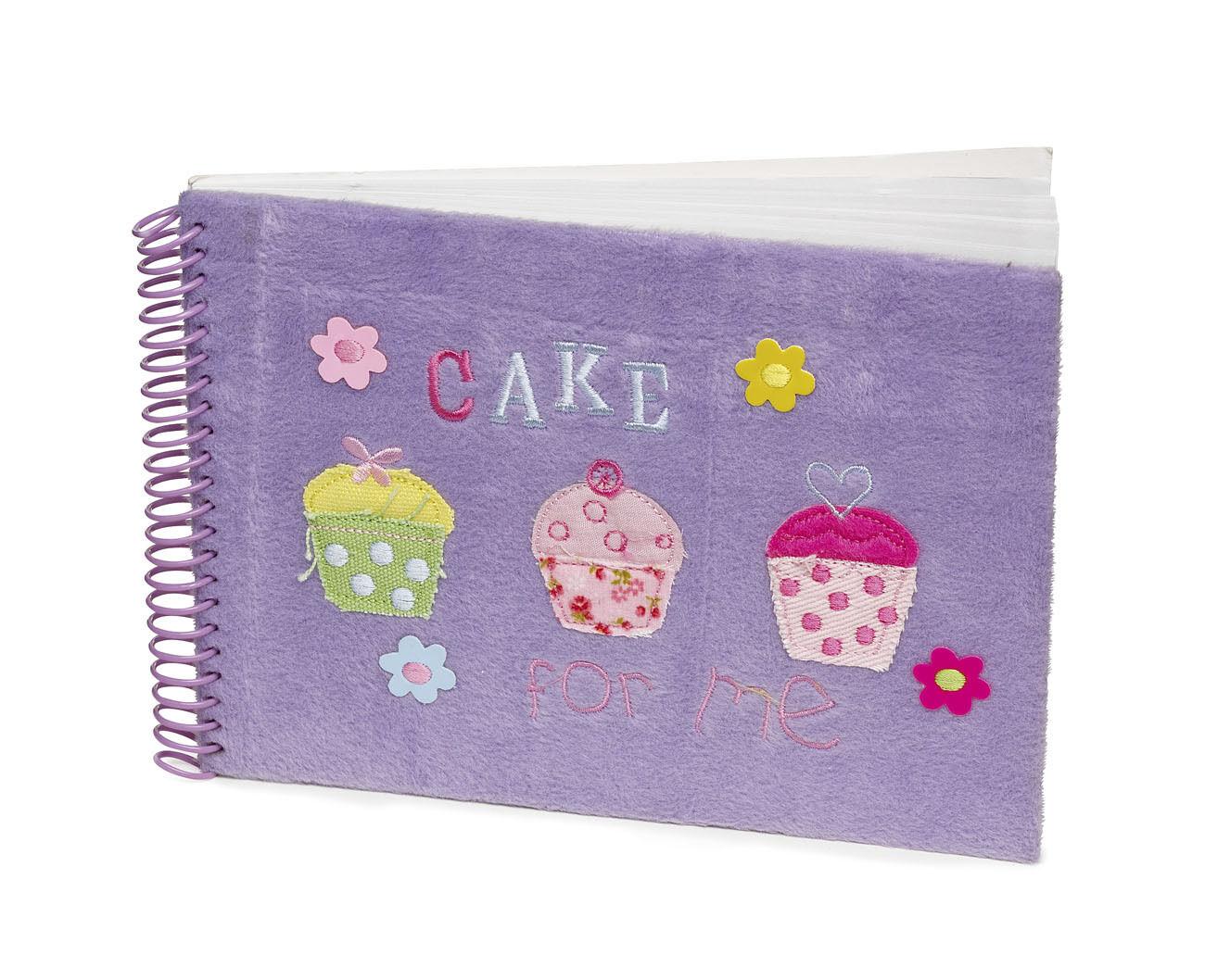 25 X Restposten Mädchen Lila Pelz Cupcake Notizbücher Geschenk Party-Tasche | Verkaufspreis  | Marke