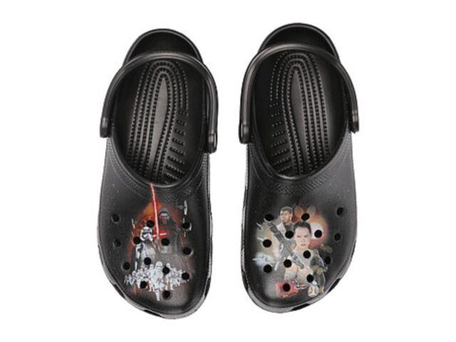 44ed0caeb52e Buy Crocs Unisex Classic Star Wars Clog Black Size 10 Mens 12 Womens ...