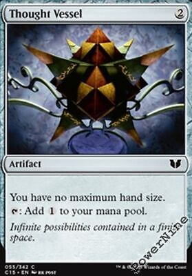 Artifact C15 Commander 2015 Mtg Magic Common 1x 1 PreCon PLAYED Thought Vessel