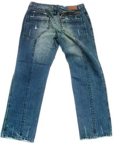 Bleached Jeans clubwear Stonewash Nine Divine de style Sq8ww5Bxt