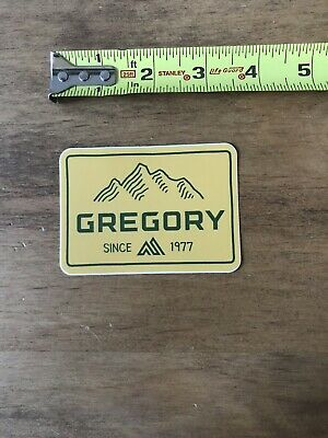 """Gregory Purple Logo Sticker//Decal Outdoor Hike Backpacking Hiking Approx 3.5"""""""