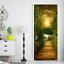 3D-Sunset-Wood-Bridge-Door-Wall-Mural-Wallpaper-Stickers-Vinyl-for-Bedroom thumbnail 2