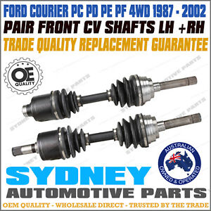 PAIR Ford Courier & Mazda B2500/B2600 1988 - 2002 Front CV Joint Drive Shafts