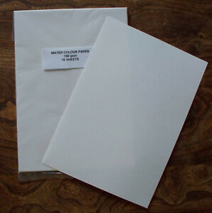 16-Sheets-of-A4-Watercolour-Paper-180-gsm