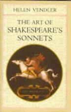 The Art of Shakespeare's Sonnets by Helen H. Vendler CD Included