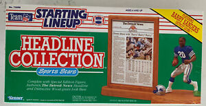 Starting Lineup 1991 NFL Barry Sanders Headline Action Fig,Detroit Lions (B203)