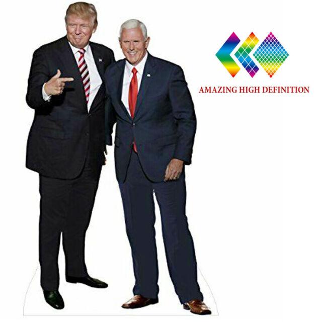 Standee. Donald Trump Cardboard Cutout Suit lifesize
