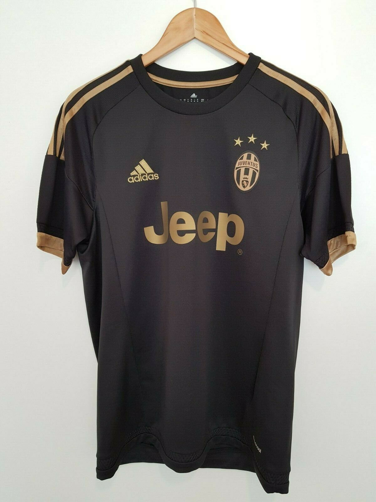 Juventus 2015 2016 Third Jersey Football Shirt Maglia Maillot Adidas Bnwt M For Sale Online
