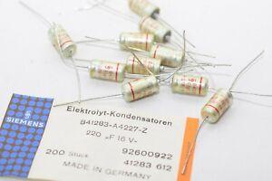 Kondensator Siemens 1000 µF 16  Volt ; Neu NOS
