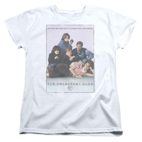 Medium The Breakfast Club Teen Comedy Movie John Hughes Bc Poster Women/'s Tee
