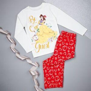 Disney Beauty and the Beast Girls  Pyjamas Age 3-4  /& 5-6 yrs BNIP  RRP £12