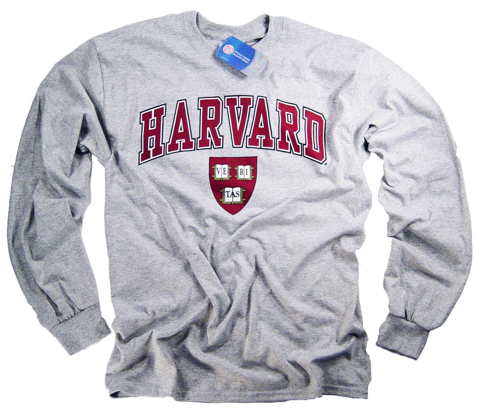 Harvard T-Shirt College University Crimson Crew NCAA Officially Licensed 2