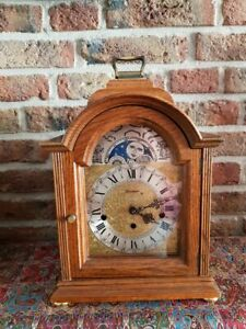 Triple-Chime-Keininger-Table-clock-with-Moon-Phase-Three-melodies-Table-clock
